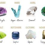 pierres des mois de naissance